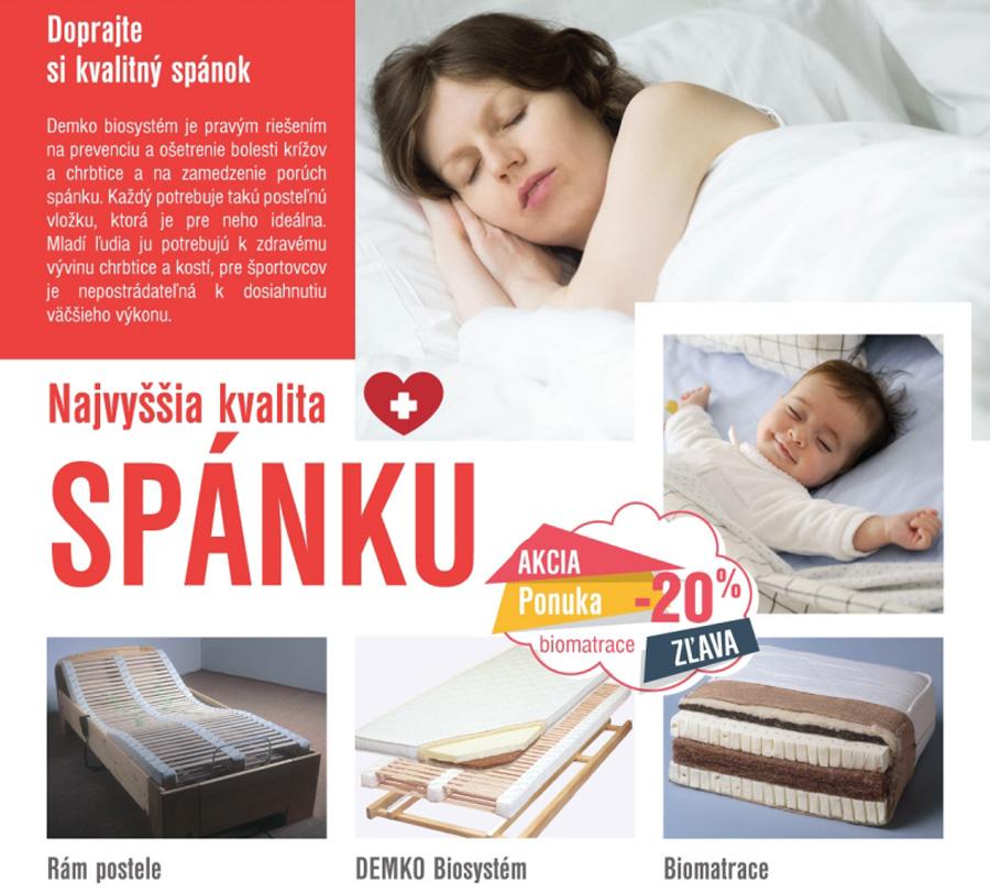 Dobrý spánok - zdravie