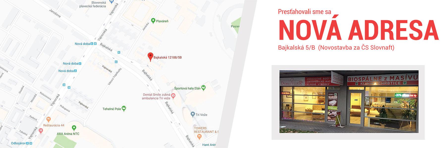 Nová adresa